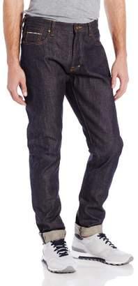 PRPS Goods & Co.... Men's Fury Tapered-Leg Indigo Selvedge Jean