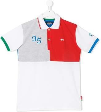 Harmont & Blaine Junior TEEN colourblock polo shirt