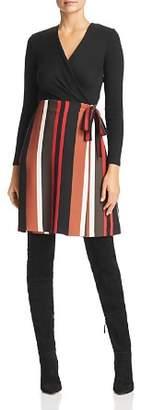 Marella Bello Knit & Striped Skirt Dress