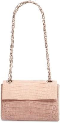 Nancy Gonzalez Small Madison Genuine Crocodile Shoulder Bag