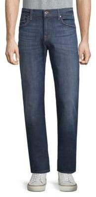 7 For All Mankind Faded Slimmy Jeans