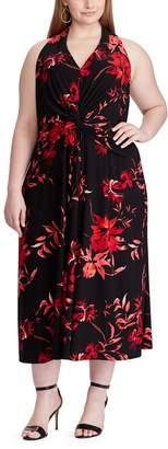 Chaps Women's Sleeveless Floral Dress