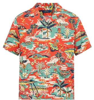 fc155de4d Polo Ralph Lauren Hawaiian Print Short Sleeved Shirt - Mens - Red Multi
