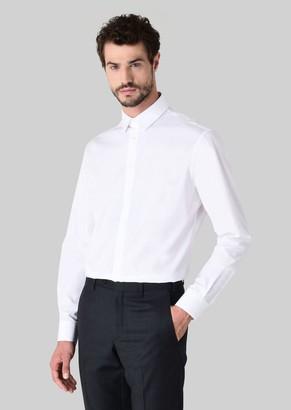 Giorgio Armani Classic Collar Cotton Shirt