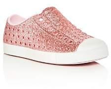 Native Girls' Jefferson Waterproof Slip-On Sneakers - Walker, Toddler, Little Kid