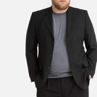 La Redoute COLLECTIONS PLUS Standard Length Straight Cut Single-Breasted Suit Jacket