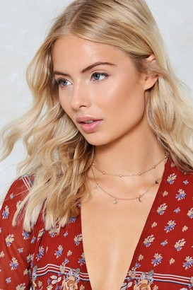 Nasty Gal Harvest Moon Layered Necklace