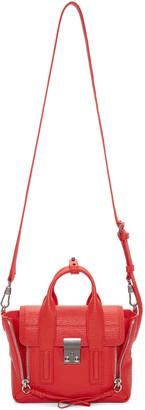 3.1 Phillip Lim Red Mini Pashli Satchel $695 thestylecure.com