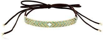 Noir Oceanic Wrap Choker Necklace