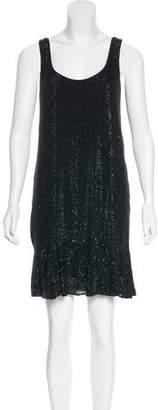 Diane von Furstenberg Silk Embellished Dress