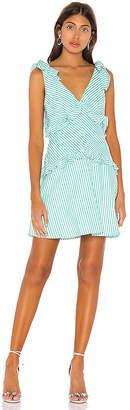 BCBGeneration Tie Shoulder Mini Dress