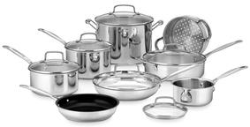 CuisinartChef's Classic Cookware Set (14 PC)