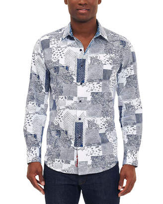 Robert Graham Bhakti Classic Fit Woven Shirt