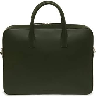 Mansur Gavriel Calf Briefcase - Moss