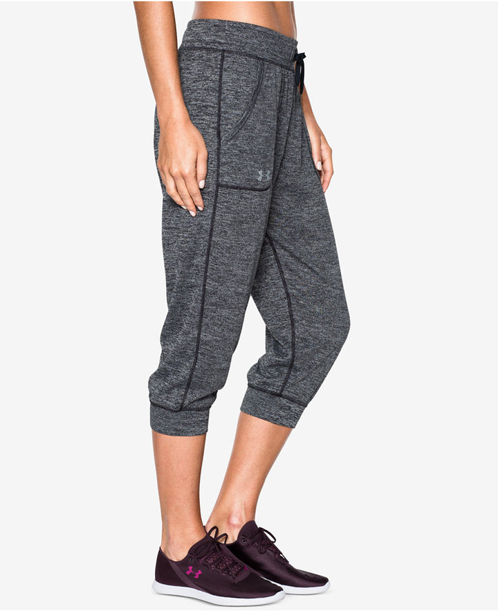 Under Armour Tech Heathered Capri Pants
