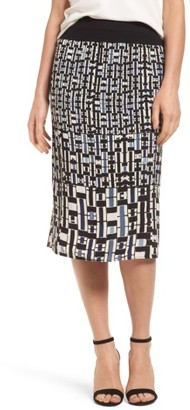 Women's Nic+Zoe Mixed Check Skirt $138 thestylecure.com