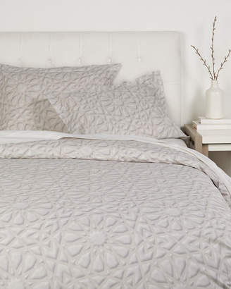 Beleza Stamped Medallion Duvet Set