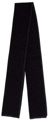 Christian Dior Wool Logo Scarf