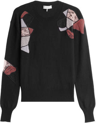 Emilio Pucci Wool Pullover with Silk and Cashmere