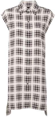Marc Jacobs checked long shirt