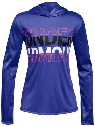 Under Armour Girls UA Tech Varsity Hoodie