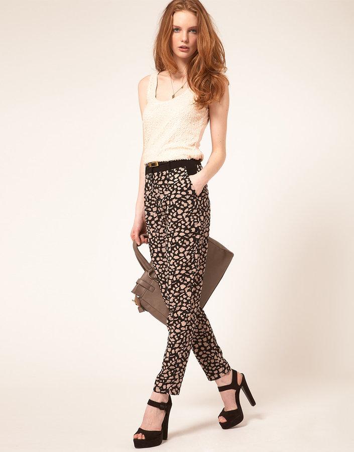 Oasis Leopard Print Pant
