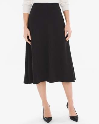 Chico's Chicos Ponte Midi Skirt