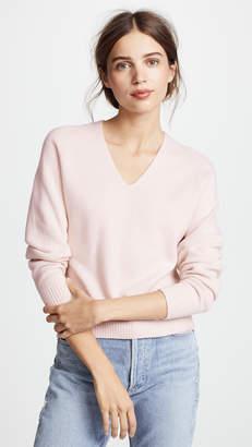 Vince Deep V Neck Cashmere Sweater