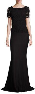 St. John Floral Lace Dress $2,795 thestylecure.com