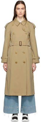 Burberry Beige Extra Long The Westminster Trench Coat