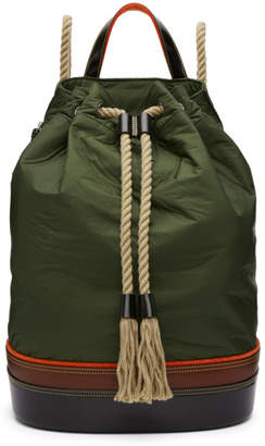 J.W.Anderson Khaki Sailor Backpack