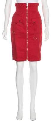 Chris Benz Knee-Length Pencil Skirt