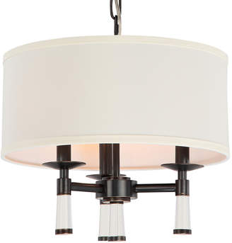 Crystorama 3-Light Baxter Oil Rubbed Bronze Chandelier