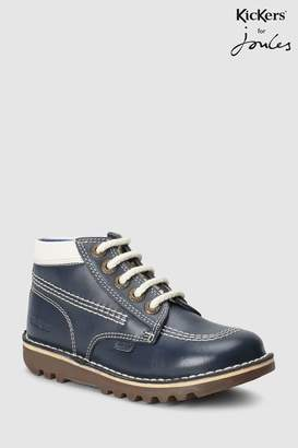 Next Boys Kickers Joules Dark Grey Kick Hi Boot