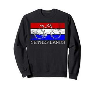Netherlands Sweatshirt Bicycle Shirt Dutch Flag Colors