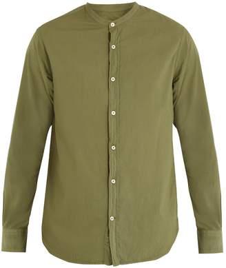 Officine Generale Gaspard stand-collar cotton shirt