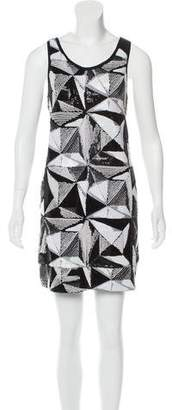 Fendi Sequined Mini Dress