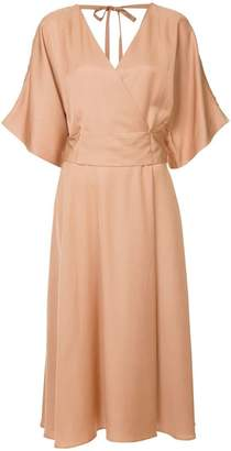 Ginger & Smart Merge flared midi dress