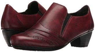 Rieker - 41730 Women's Slip-on Dress Shoes $120 thestylecure.com