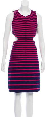 Thakoon Striped Cutout Dress