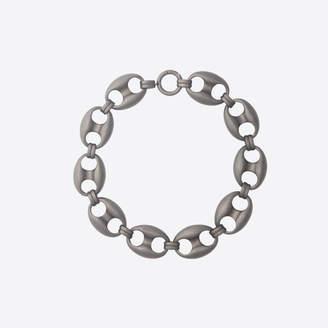 Balenciaga Chunky link aged-palladium necklace