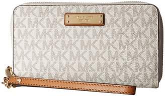 MICHAEL Michael Kors Wristlets Large Flat Multifunction Phone Case Wallet