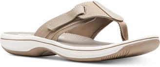 Clarks Collection Women Brinkley Sail Flip-Flops, Women Shoes