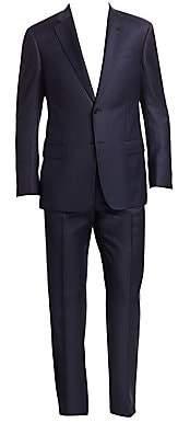 Emporio Armani Men's Tonal Stripe Wool Suit