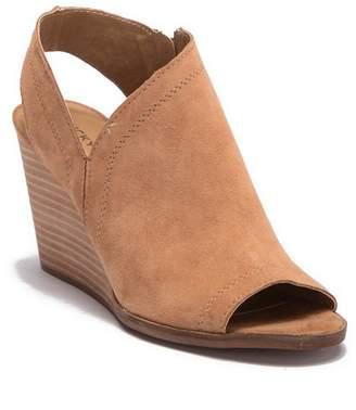 866de81ee087 Lucky Brand Udelle Slingback Wedge Sandal