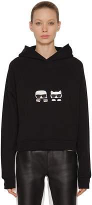 Karl Lagerfeld Ikonik Cotton Sweatshirt Hoodie