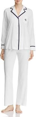 Lauren Ralph Lauren Pima Cotton Long PJ Set $79 thestylecure.com