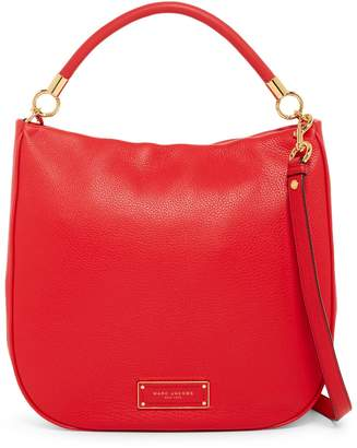 Marc Jacobs Too Hot to Handle Leather Hobo Bag