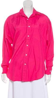 Ralph Lauren Long Sleeve Button-Up Top