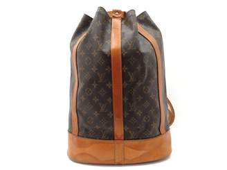 Louis Vuitton Brown Cloth Backpacks